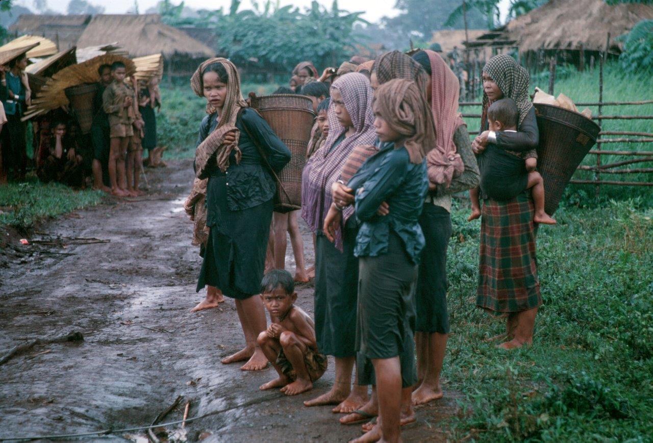 Women and Children Over Here - Innocent Souls Vietnam 1968